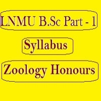 LNMU B.Sc Part 1 Syllabus Zoology (Honours)