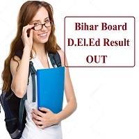 Bihar Board D.El.Ed Result