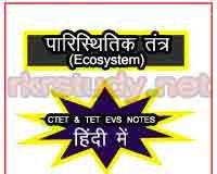 पारिस्थितिकी तंत्र (Ecosystem) क्या है?